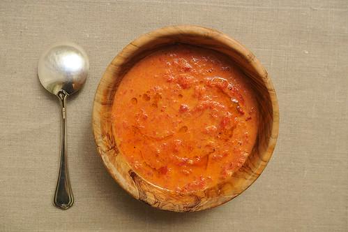 Cream of Roasted Tomato Soup