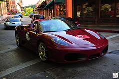 Ferrari F430 Spider (Matthew Britton) Tags: auto red classic cars car yellow silver spider nikon matthew rally fast 360 super images ferrari crescent springs arkansas modena mb scuderia v8 eureka britton maranello f430 v12 550 355 575 16m d300s