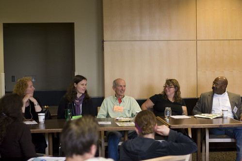 How To Eat Your City Panel at the PacNW Permaculture Convergence - featuring staff from Seattle Deparment of Neighborhoods, Parks & Recreation, Planning & Development, Richard Conlin's Office, and Seattle Public Utilities