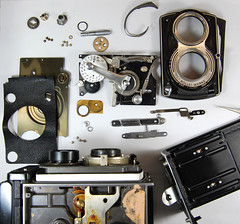 Kit Version of Rolleiflex T (02) (Hans Kerensky) Tags: rolleiflex t version british kit defence tessar franke compur ministery heidecke