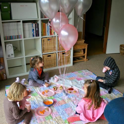 carpet {party} picnic