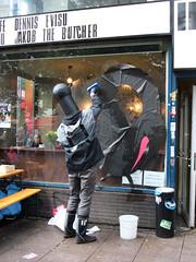 PARASITES#4: BRONCO, Street Art  Das Musical, Hamburg (Antonia Schulz) Tags: street city urban streetart art town kunst strasse cit hamburg performance parasites sidewalk musical bronco urbana premiere ville sternschanze 2010 1010 urbain brgersteig schulterblatt tenten ffentlicherraum iii70 urauffhrung