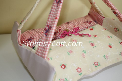 Tapau bag (small version of Food Warmer) - lovely red hearts