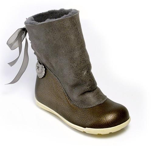 Zapatos beige de invierno infantiles Z8AtB