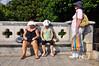towel heads (einsteinsmonster) Tags: sun nikon women croatia heat towels mad oldtown dubrovnik d90 einsteinsmonster