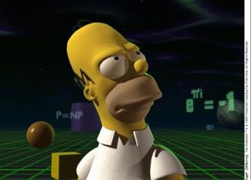 3d homer simpson image