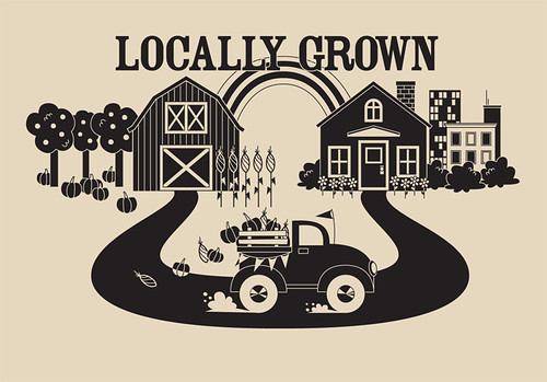 locally grown black