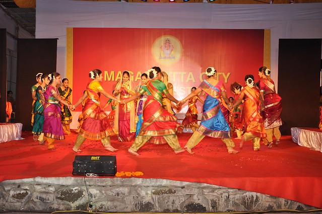 Rhythym at the Geet Ramayana at the Magarpatta City Ganesh Festival