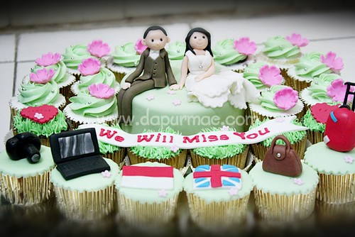 Farewell Cake & Cupcake Set
