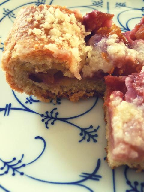 crumble cake {pere e nashi}