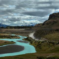 Il Fiume Azzurro (Tati@) Tags: chile patagonia color river landscape natura paesaggi wildness riopaine theunforgettablepictures internationalgeographic bestcapturesaoi elitegalleryaoi xiimagallanesandantrticachilenaregion
