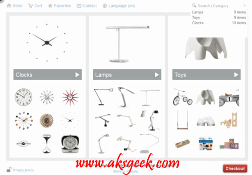 Wazala- Online Store