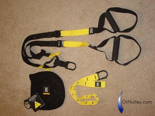 Components of Genuine TRX P2 suspension trainer