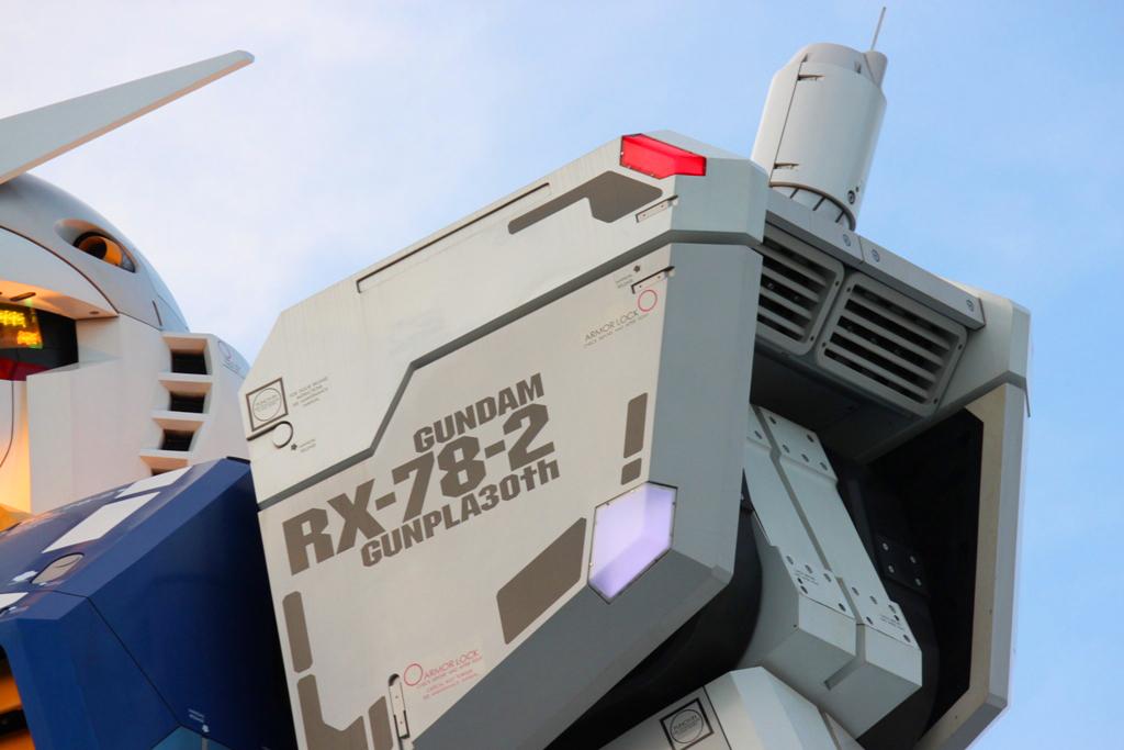 Real Size GUNDAM moved to Shizuoka (17)