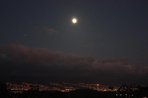 Full Moon Over Oahu