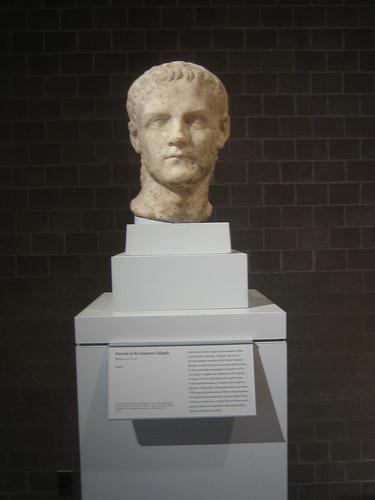Portrait of Caligula (Roman emperor A.D. 37-41) Roman, A.D. 37-41 _7693