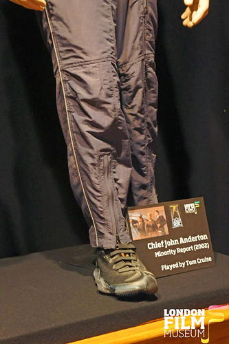 20th Century Fox 75th Anniversary Exhibition - Tom Cruise's Precrime jumpsuit from Minority Report