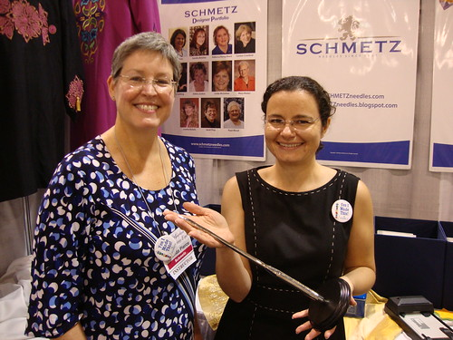me with Rhonda Pierce, Schmetz Needles