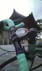 法隆寺なう。観光客多いなあ。 #twiNARA #cycleJP
