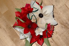 Origami Flowers (ebygomm) Tags: flower paper origami papercraft kusudama