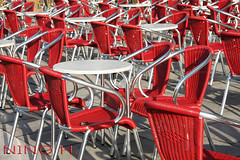 Chairs on the Plaza San Marco - Venice (Nino H) Tags: plaza venice italy san italia place chairs tables marco venezia chaises mywinners gettyimagesitalyq1