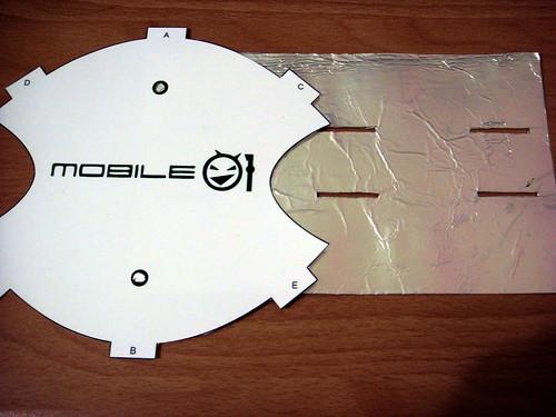 製作無線天線用材料-POP美工圖紙