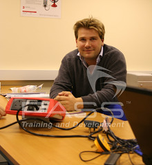 Alistair on our PAT Testing Business Start Up Course