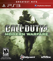 Call of Duty 4: Modern Warfare Greatest Hits for PS3