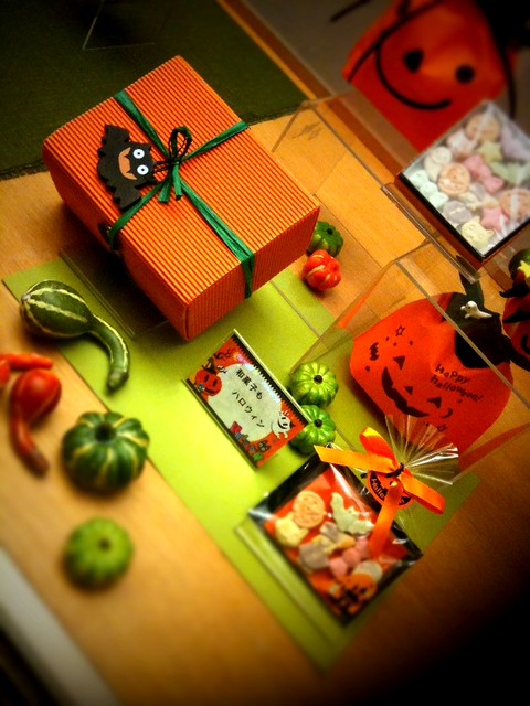 Halloween with Japanese sweets