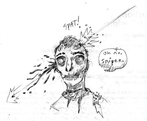 sniper zombie