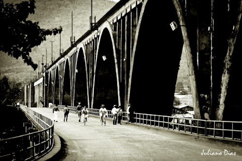 Ponte Rodo-Ferroviária Brochado da Rocha - Muçum/RS