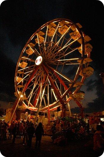 Ferris Wheel, Carp Fair 2010