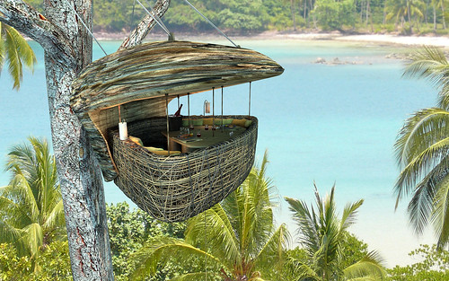 Six Sense, Soneva Kiri Dinnig Pod by Refined Resort