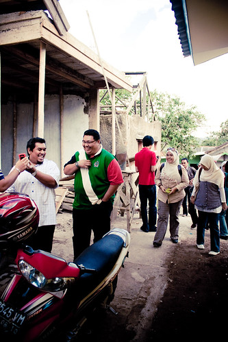 2 Hari Bersama Dato Shahidan Kassim :: Tiba di Pangalengan ::
