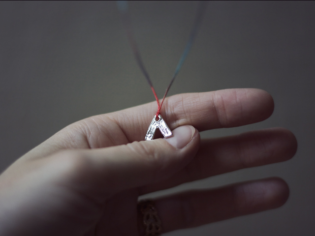 arrow necklace by wiksten + odette