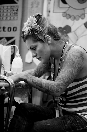 Amanda Toy - London Tattoo Convention