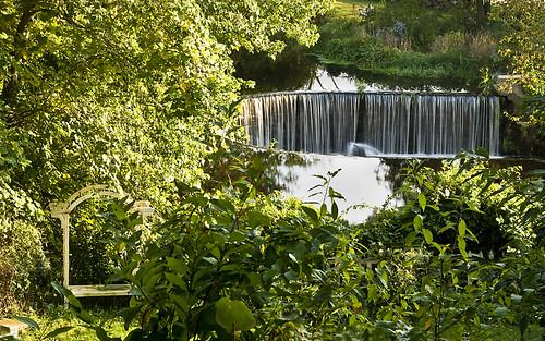 Horseshoe Falls in Shannock, Rhode Island