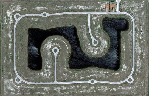 near Ft Myers, FL (image capture from Google Earth by Alan Taylor)