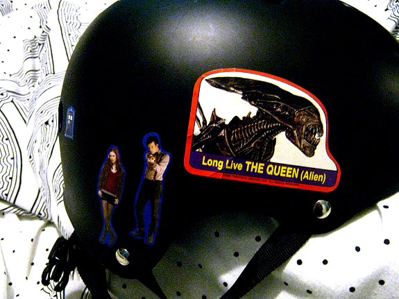 my derby helmet is more awesome than yours.