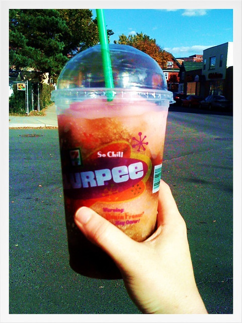 my first Slurpee in about 15 years