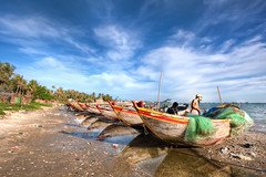 \'Daily Catch\', Vietnam, Mui Ne, Fisherman