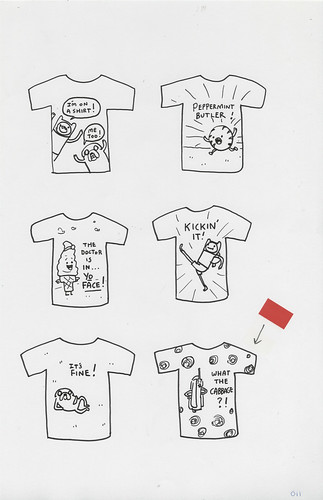 T-shirt Roughs #11
