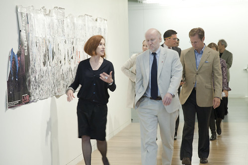 9/27/10 NEA Chairman Rocco Landesman Visit by Wexner Center