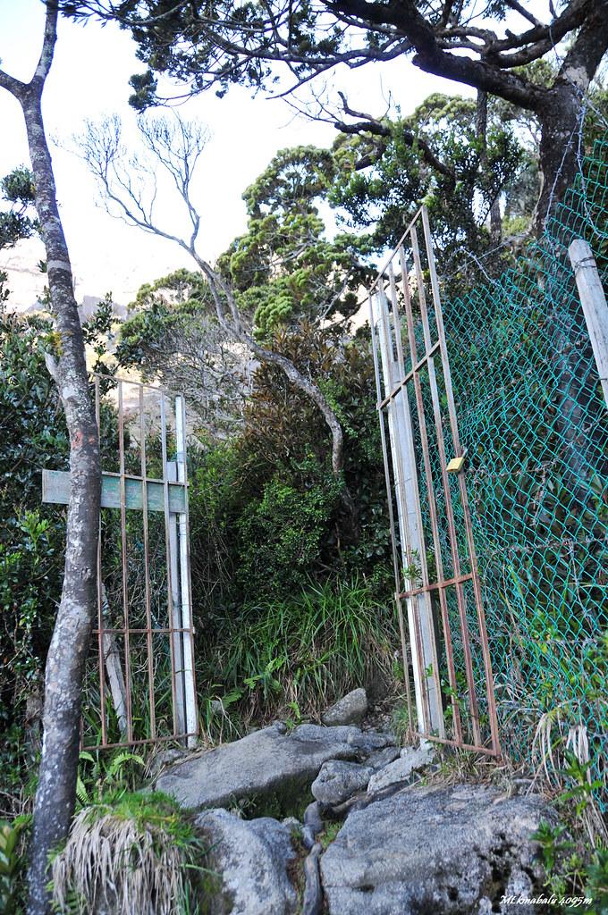 通往神山的門