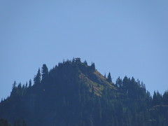 Shriner Peak lookout zoom from highway.