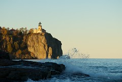 Split Rock Lighthouse in the Late Afternoon Sun (pmarkham) Tags: usa lighthouse northshore mn lakesuperior mhs splitrocklighthouse minnesotahistoricalsociety