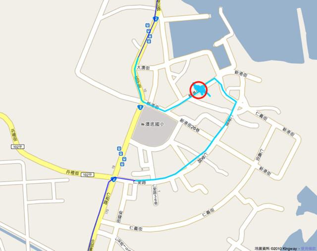 新港海鮮位置圖