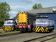 Strange Shunters (R~P~M) Tags: uk greatbritain england train unitedkingdom railway locomotive shunter longmarston