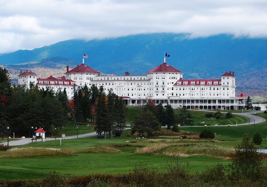 Bretton Woods, NH: Mount Washington Hotel 002