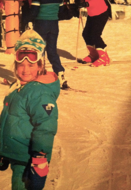 "from a wee age: ""to the slopes"" i'd say"